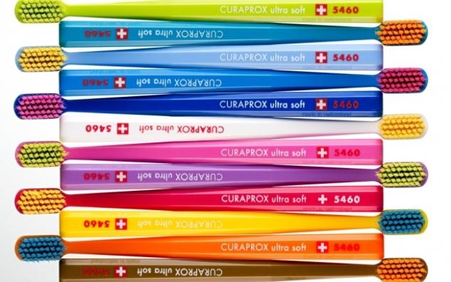 Essas são as escovas CURAPROX.