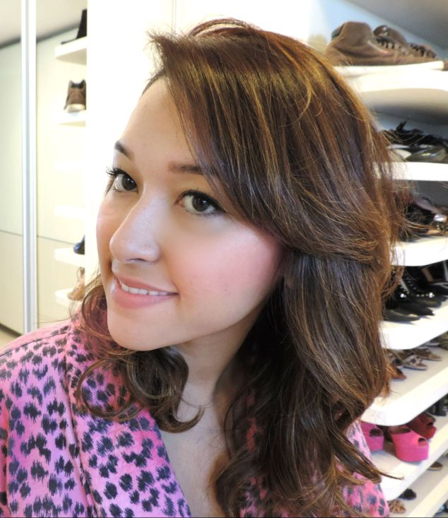 O efeito no cabelo fica lindo, mas não dá para usar todo dia!