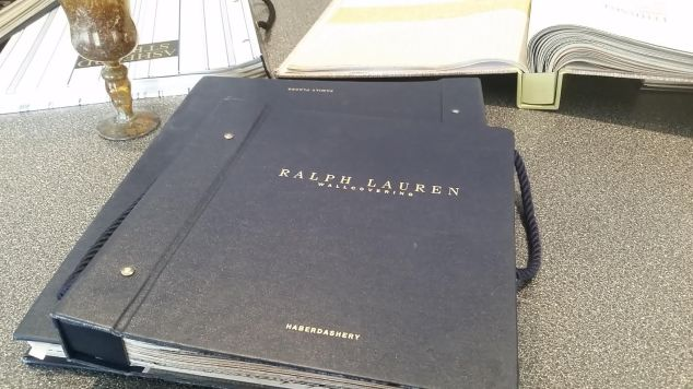 Papel de parede da Ralph Lauren da One of Kind.
